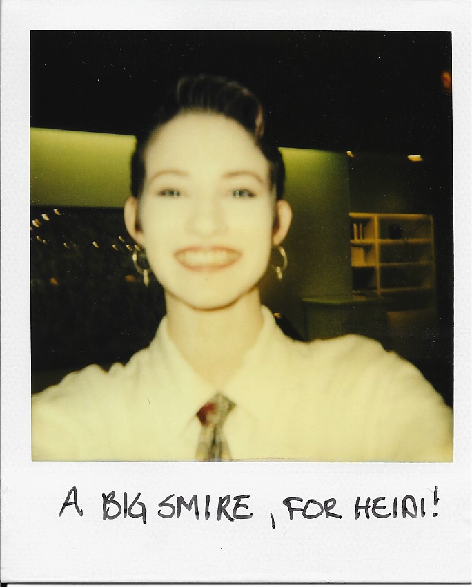 Lisa Has a Big Smire, for Heidi 1992ish